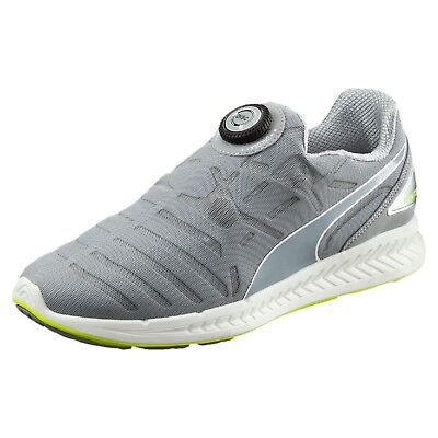 4728acdafb5 puma ignite disc trainers mens unisex slip on running shoes grey all sizes