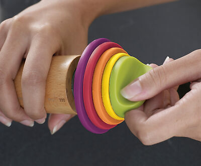 Joseph Joseph Adjustable Rolling Pin With measuring rings