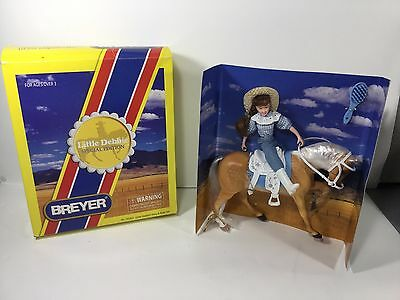 Breyer Horse, Little Debbie & Ginger, Special Edition Pony and Rider Set.#701803