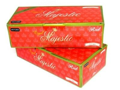 Royal Majestic Red Full Flavor 100MM  - 50 Boxes - 200 Tubes Box Tobacco Cigaret