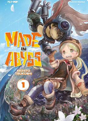 manga - MADE IN ABYSS N. 1-2-3-4-5 + mappa dell'abisso sequenza completa j-pop