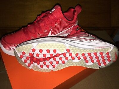 69f2cde4ea New nike vapor speed turf lax lacrosse turf shoes mens sz 10 retail $110 RED