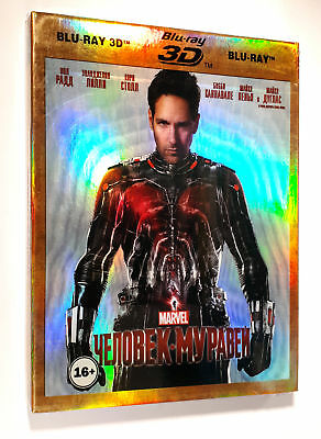 Ant-Man Blu-Ray 3D+2D(2 disk set) New, Region All + Additional materials