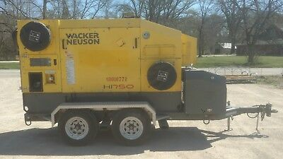 2010 WACKER NEUSON  HI750 Indirect Fired Heater LOW HOURS
