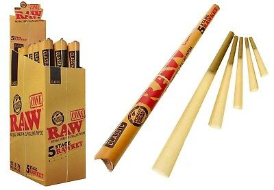 RAW Classic RAWKET 5 Stage - 1 PACK - Cones Supernatural Emperador King Size
