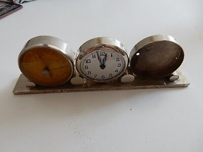 ART DECO ERA   trio clock barometer etc to restore
