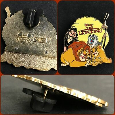 Disney Pin 32684 Family Collection (Lion King) Very Rare Find Free Shipping