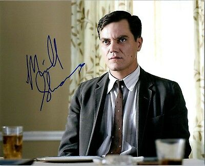 Michael Shannon Signed 8x10 Photo Take Shelter Shape Of Water Waco Actor A Movies