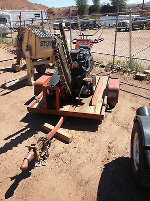 Ditch Witch 1330 Trencher with Trailer