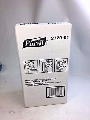 PURELL 2720-01 TFX Touch Free Hand Sanitizer Dispensers, Dove Gray