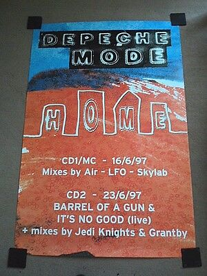 """DEPECHE MODE """"Home"""" (Official 60"""" x 40"""" Promotional Poster) NEW and UN-USED"""