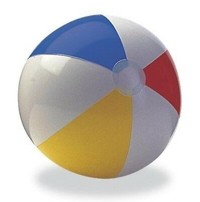 "New Inflatable Blow up Panel Beach Ball 20"" 24"" Holiday Swimming Garden Handball"