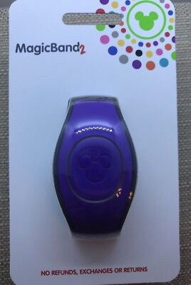 Disney Parks PURPLE Magic Band 2 Link It Later New 2018 MagicBand 2.0 Linkable