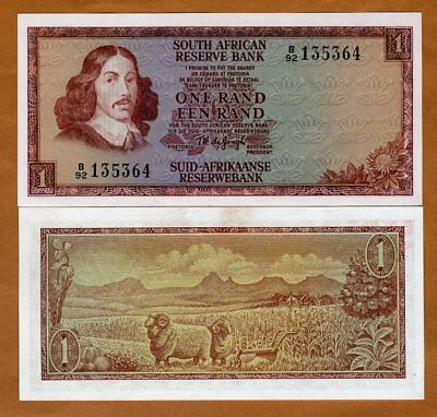 South Africa, 1 Rand, ND (1973), P-115a, UNC