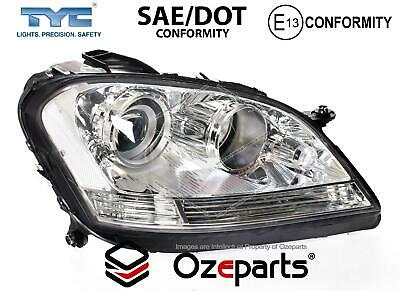 RH Right Hand Head Light Lamp Non HID For Mercedes Benz M Class W164 2005~2008