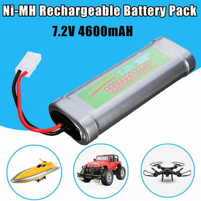 2x 7.2V 4600mAh Ni-Mh rechargeable battery Tamiya Plug For RC Control Car Toy AU