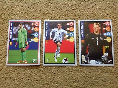 PANINI Football Superstar KELLOGGS 3 x Stickers RUSSIA World Cup 2018 POST FREE
