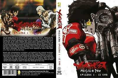 ANIME DVD~Megalo Box(1-13End)English subtitle&All region FREE SHIPPING+FREE GIFT