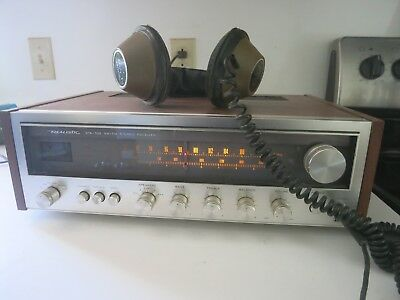 Realistic STA 52 B Stereo Receiver 1980 AND Nova 40 Headphones