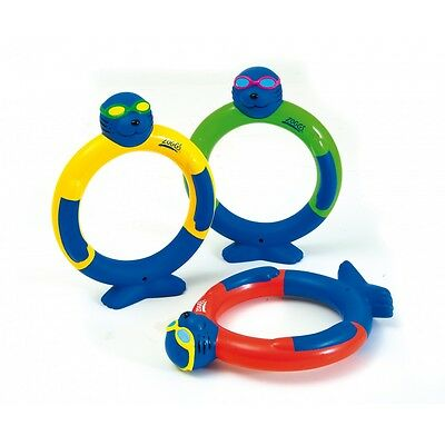 Zoggs Seal Dive Rings - Set of 3 - Like Zoggs Dive Sticks