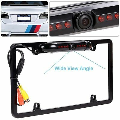 US CAR REAR View Backup Camera 8 IR Night Vision US License Plate ...