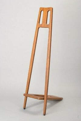 Elegant Early C20th Folding Wooden Boot Jack. Ref HAL
