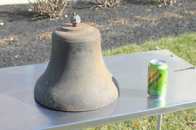 "12"" Antique Railroad Bell 40 lb. Ship Naval Maritime Great Condition!"