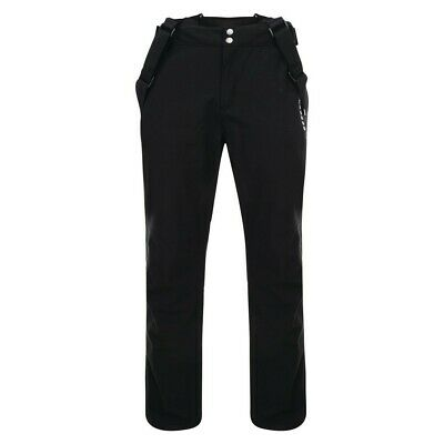 Mens Dare2b Vouch Technical Trouser Ski Pants Salopettes Black