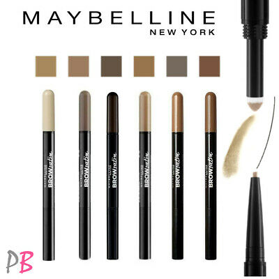 Maybelline Brow Satin Eye Brow Duo Pencil & Filling Powder Eyebrow Liner Shades