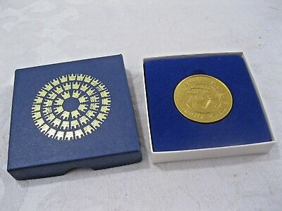 Panama Canal 80th Anniversary Commemorative Medal Collector Coin, 1904-1984