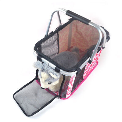 Folding Pet Dog Cat Travel Carry Carrier Tote Cage Bag Crates Kennel Portable