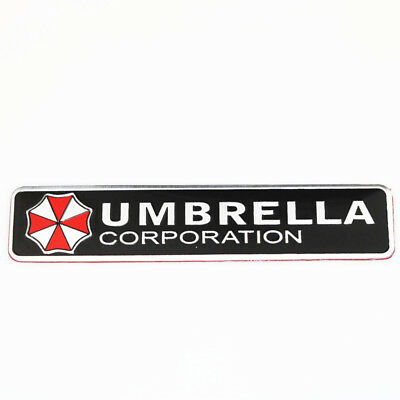 3D Umbrella Corporation Emblem Autoaufkleber Sticker Resident Evil Tuning Eckig