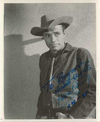 House Peters Jr- Vintage Glossy Signed Photograph