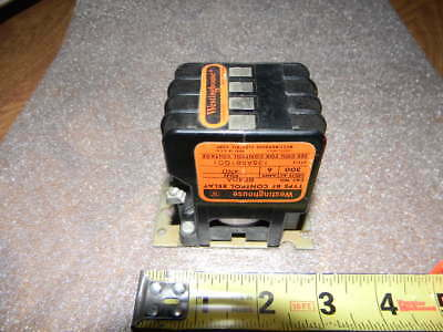 Westinghouse Type BF Control Relay BF40A 300V 4 Pole