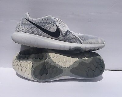 641c212ae1c3 Nike Flex Fury Mens Running Shoes White Black-Wolf Grey-Cool Grey 705298