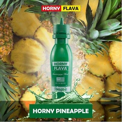 New Horny Flava Pineapple 65Ml 6Mg Vape Juice