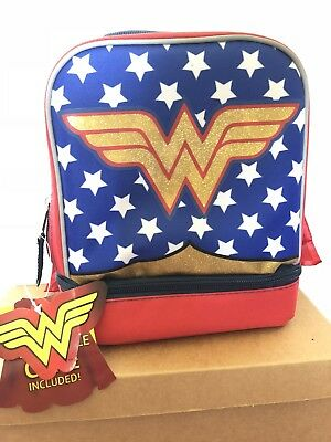 Wonder Woman Lunch Bag Brand New