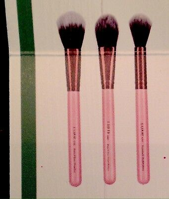 Luxie 3-piece Flawless Complexion Makeup Brushes Set New Sealed