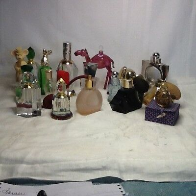 Perfume Bottles Lot of 15