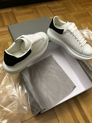 7d36443324f ALEXANDER MCQUEEN LEATHER Lace-Up Platform Sneakers - $250.00 | PicClick