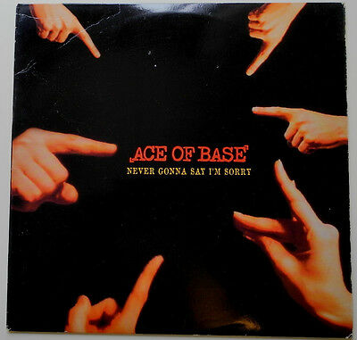 """12"""" Us**ace Of Base - Never Gonna Say I'm Sorry (Arista '96)***18519"""