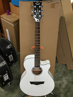 DEAN Axcess Performer acoustic electric GUITAR new Classic White - B-stock