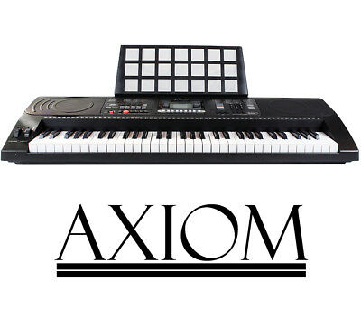 Axiom 61 Note Electronic Piano Keyboard Touch Responsive USB Music Keyboard