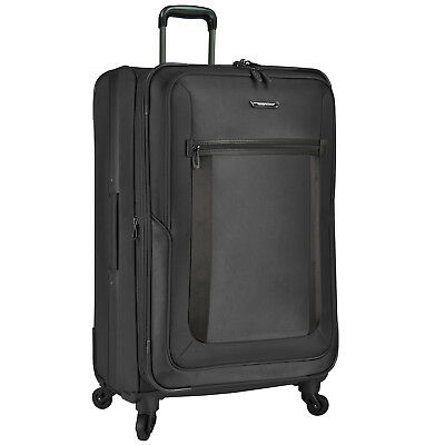"St Augustine 31"" Large Ballistic Nylon Expandable Spinner Luggage Suitcase Bag"