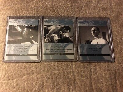 James Bond  Promo Card Lot Quotable