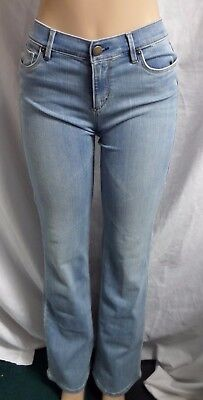 Ann Taylor LOFT Boyfriend Jeans Pants in Surface Blue Wash Size 26//2 27//4 NWT