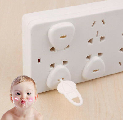 6pcs Safety Outlet Plug Protector Covers Child Baby Proof Electric Shock Guard