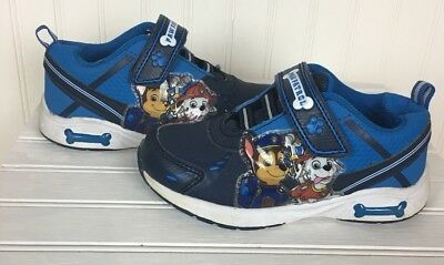 Paw Patrol Light Up Sneakers Toddler Boys shoes size 9/Blue