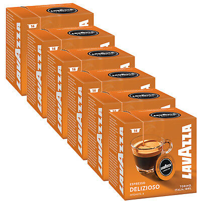 Lavazza A Modo Mio Espresso Delizioso 96 Pods for Capsule Coffee Machine, Medium