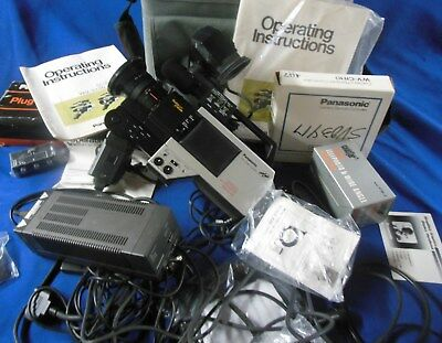 Panasonic WV-3230 Newvicon ProLine Color TV Video Camera Outfit w/ Case